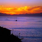 False Bay sunset